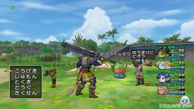 Screenshot - Dragon Quest X Online (Wii) 2368807