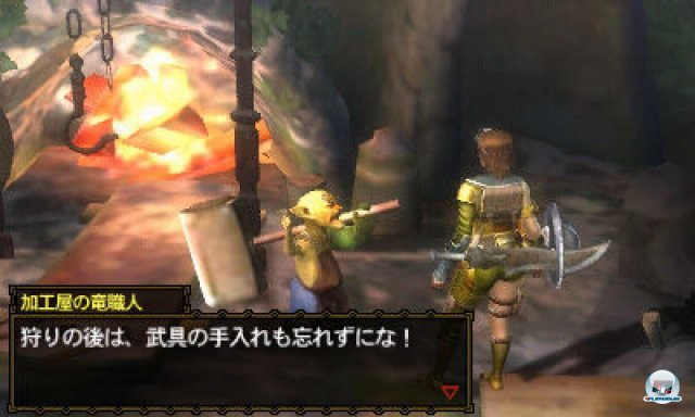 Screenshot - Monster Hunter 3G (3DS) 2273952