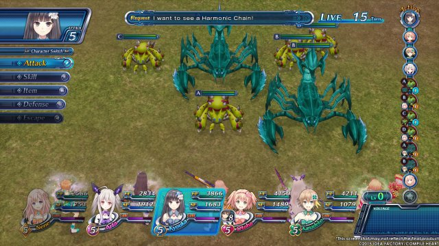 Screenshot - Omega Quintet (PlayStation4)