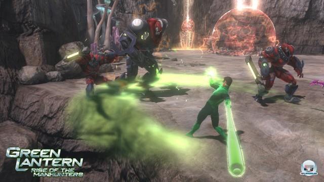 Screenshot - Green Lantern: Rise of the Manhunters (360) 2225383