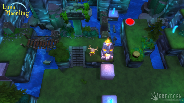 Screenshot - Luna and the Moonling (Linux)