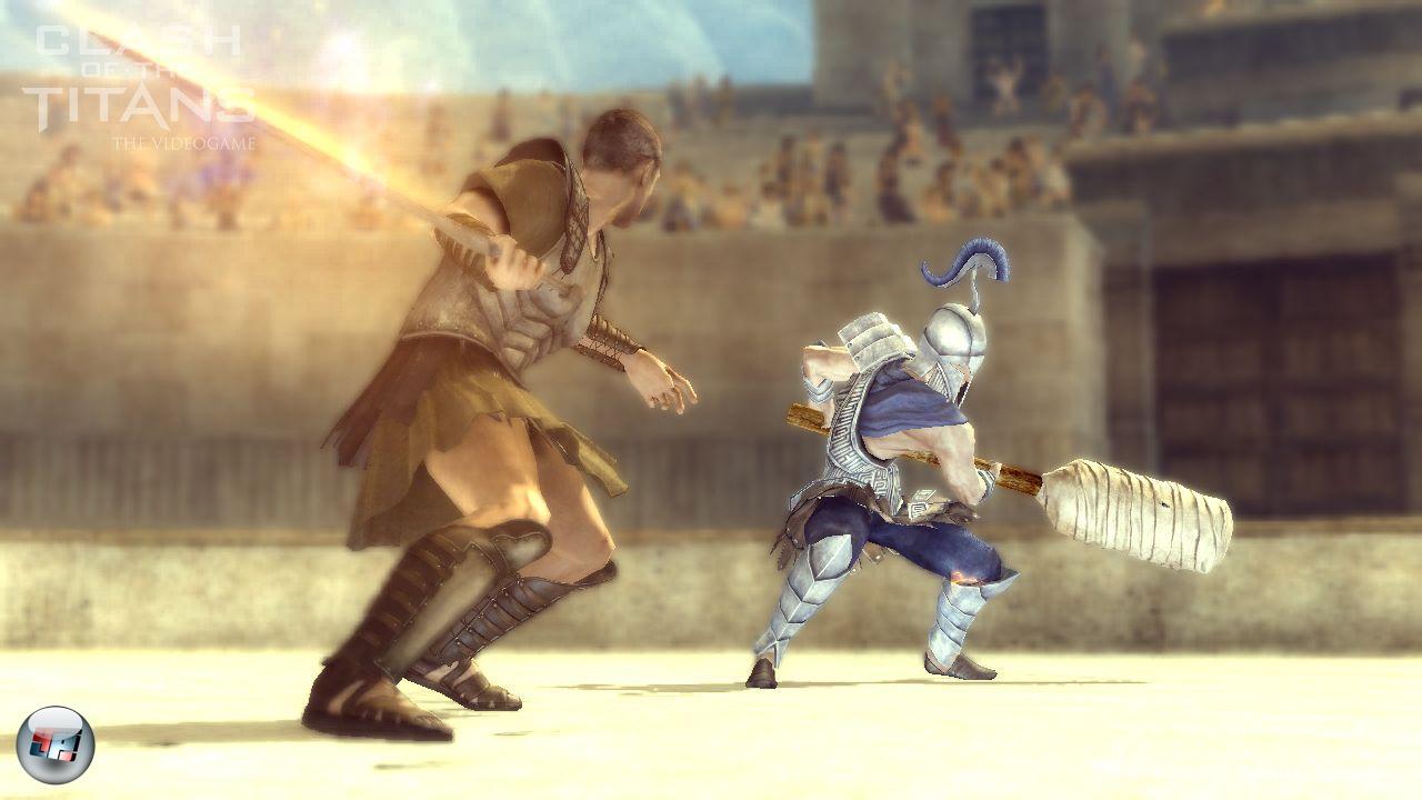 Kampf der titanen das spiel test action playstation for Soluzione giardini superiori god war 3