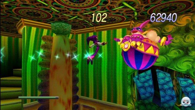 Screenshot - NiGHTS Into Dreams (PC-CDROM)