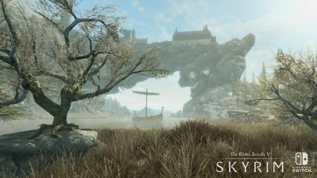 Skyrim kann zwar visuell nicht mit der Special Edition auf PS4 oder One aus dem letzten Jahr mithalten, hinterlässt aber dennoch einen stimmungsvollen Eindruck.