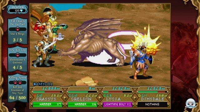 Bis zu vier Spieler können kooperativ in die Schlacht ziehen.