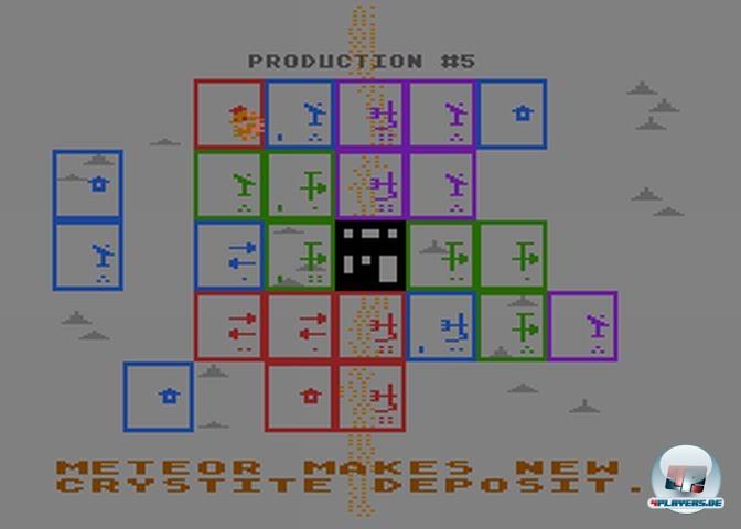 Optisch war M.U.L.E. (die Bilder stammen vom Atari 800-Original) alles andere als ein Hingucker...