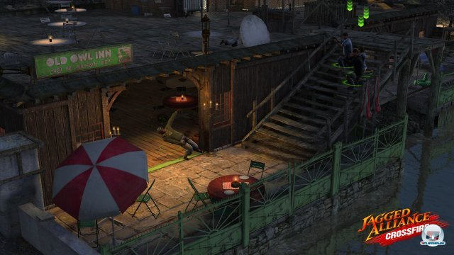 Screenshot - Jagged Alliance: Crossfire (PC-CDROM)
