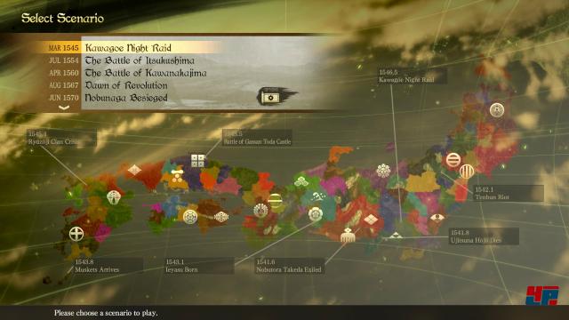 Ziel des Spiels ist es einmal mehr das feudale Japan der Sengoku-Zeit zu einen.