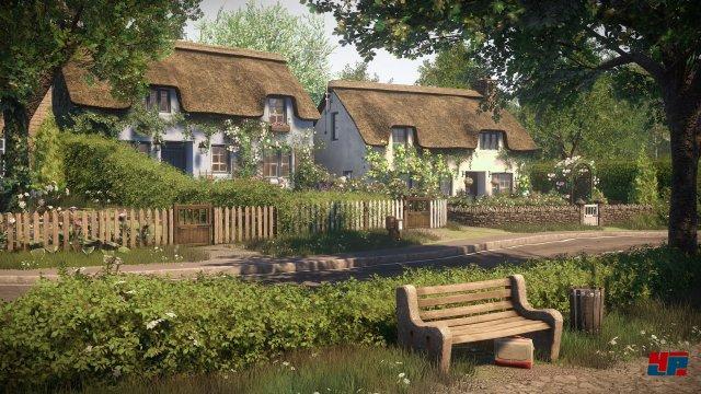 Durch die idyllische Umgebung und geheimnisvolle Hinweise entsteht eine lebendige Spielwelt.