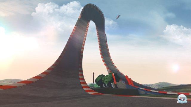 Das Streckendesign entspricht nicht den üblichen F1-Pisten.