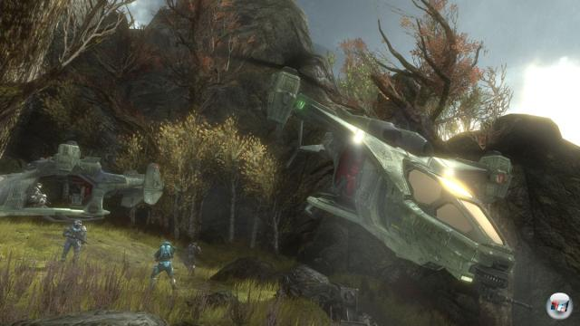 Die Mehrspieler-Gefechte in Halo Reach sind sehr intensiv!