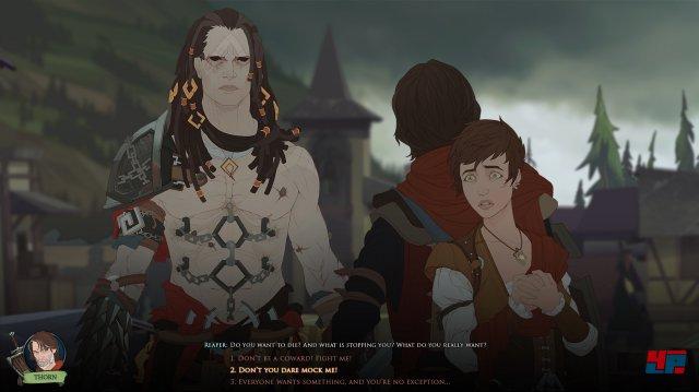 Screenshot - Ash of Gods: Redemption (Linux)