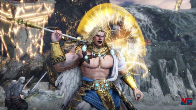 Auch der griechische Göttervater Zeus hilft den Kriegern aus den Dynasty- bzw. Samurai-Warriors-Serien.
