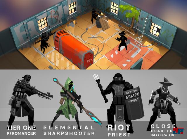 Screenshot - Tactical Breach Wizards (PC)