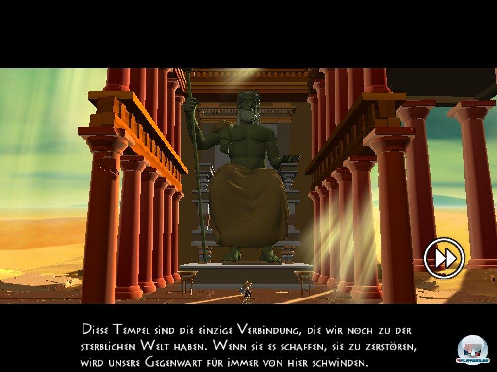 Willkommen in der Antike für iOS: Die Umsetzung des WiiWare-Hits kann sich sehen lassen.