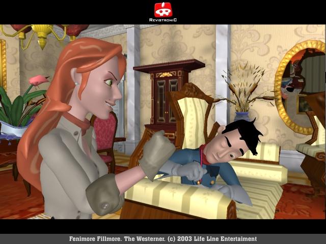The Westerner (2004)<br><br>Und noch ein Abstecher in Shooter-fremde Gefilde – und ein weiterer Besuch im Reich der Knobelei. Fenimore Fillmore heißt der... nun, die Hauptfigur – eine Mischung aus Guybrush Threepwood und einem Zauberlehrling namens Simon. Man will ja Revolverheld sein, ist aber nur ambitionierter Tollpatsch. Der ist nur witzig anzuschauen, sondern verband auch geschickt 3D mit Point&Click und wäre im vergangenen Jahr mit einem jämmerlichen Nachfolger (4Players-Wertung: 20%) wohl zu Grabe getragen worden, würde sich Teil eins nicht just in diesem Monat noch einmal auf WiiWare blicken lassen! 2092893