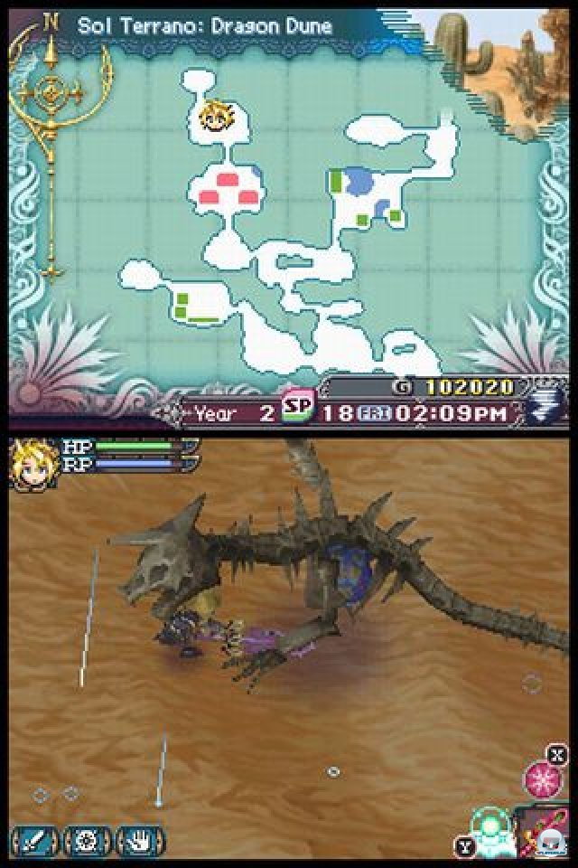 Screenshot - Rune Factory 3: A Fantasy Harvest Moon (NDS) 2273162