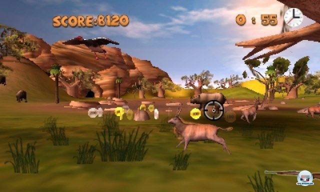 Screenshot - Outdoors Unleashed: Africa 3D (3DS)
