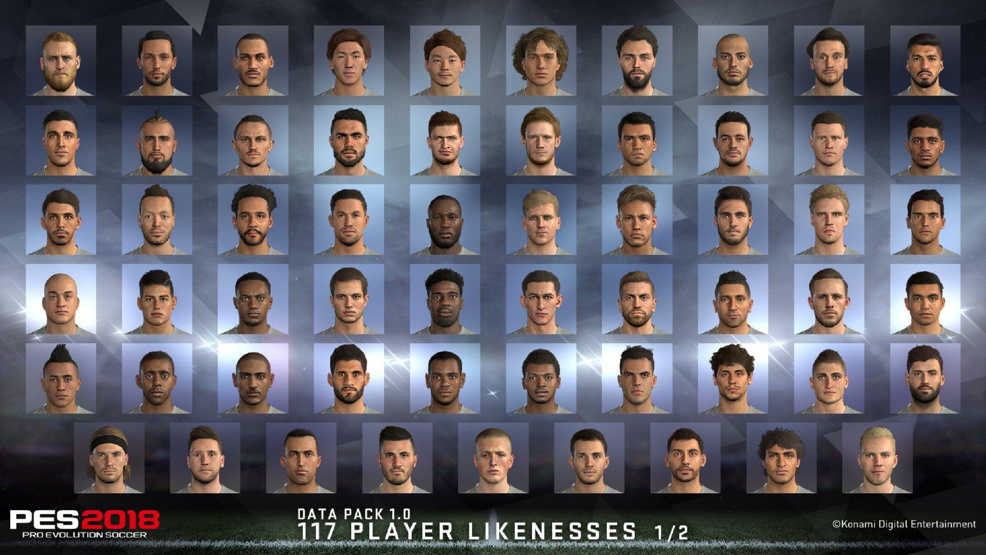 Pro Evolution Soccer 2018 Erstes Pes Data Pack Erhltlich Sony Ps4 Premium Edition Screenshot 360