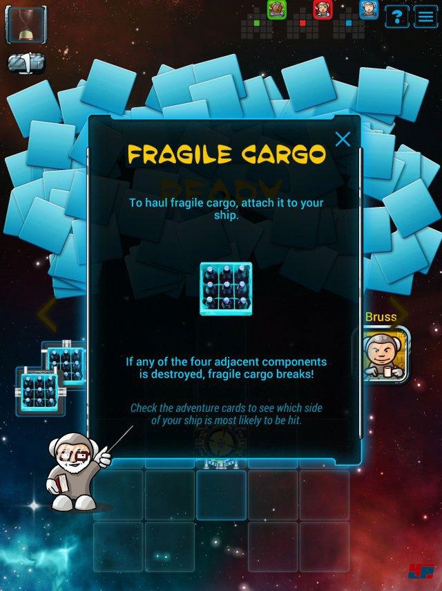 Screenshot - Galaxy Trucker (iPad) 92491769