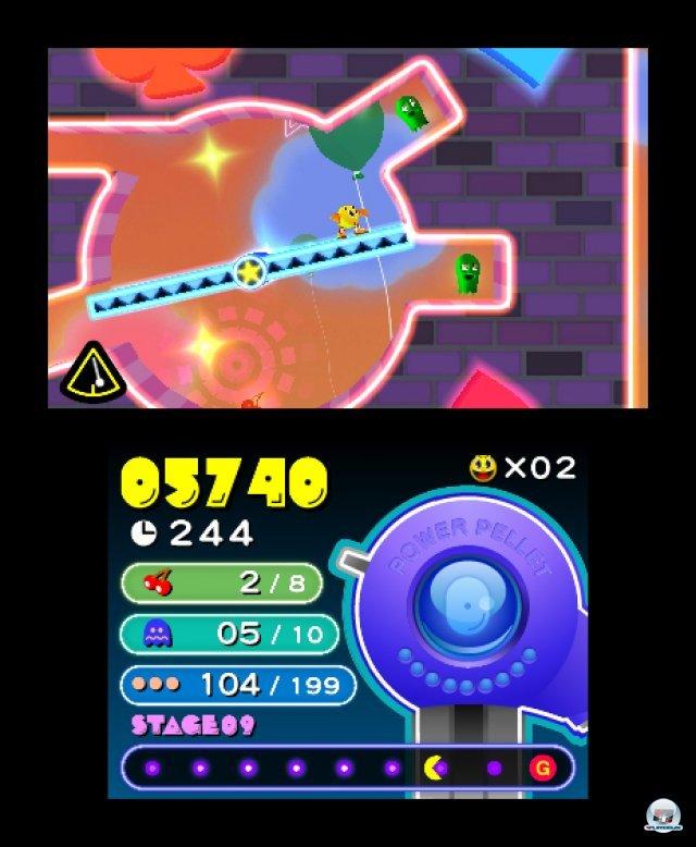 Screenshot - Pac-Man & Galaga Dimensions (3DS) 2257417