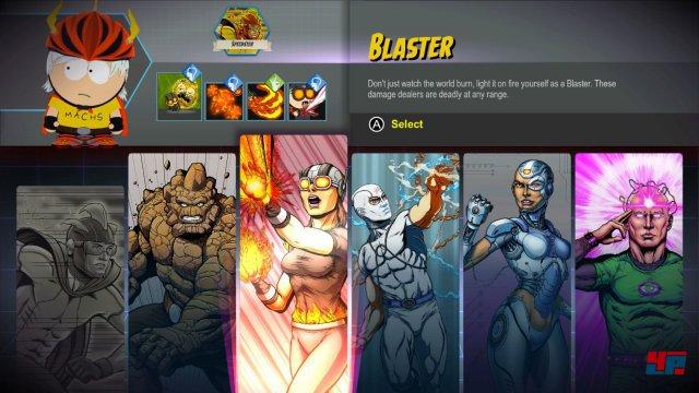Man kann seine Kampf-Fähigkeiten aus diversen Klassen kombinieren.