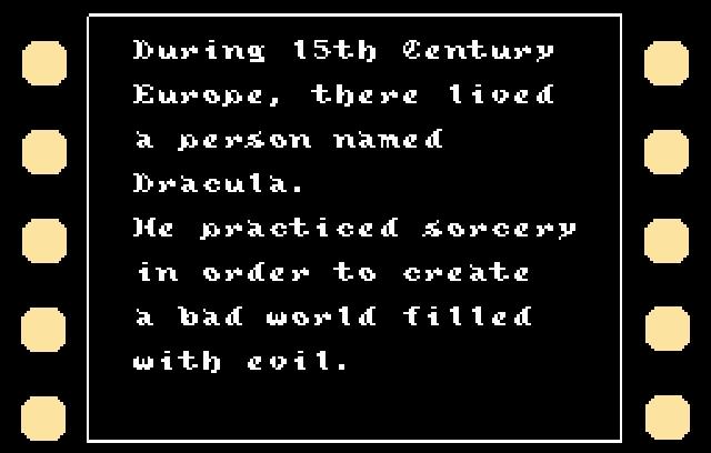 <b>Castlevania 3: Dracula's Curse</b><br><br> Hin und wieder entwickelt professionelles Engrish ein beeindruckendes Tarnungs-Talent - meist in Form von langen, schlau klingenden Sätzen. Die so wundervoll umständlich aufgebaut sind, dass man sie in den Arm nehmen, sie knuddeln und ihnen versichern möchte, dass ja alles gar nicht so schlimm sei. 1776023