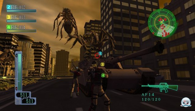 Screenshot - Earth Defense Force 2017 Portable (PS_Vita)