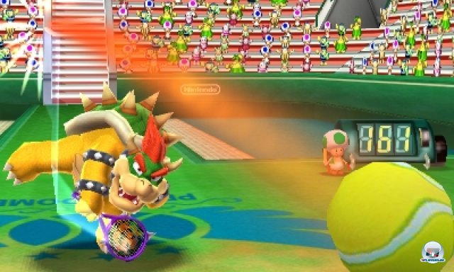Screenshot - Mario Tennis 3D (3DS) 2266547