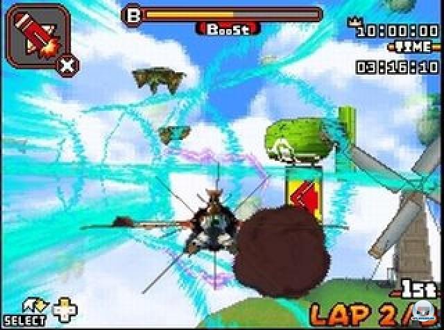 Screenshot - Solatorobo - Red the Hunter (NDS) 2223668
