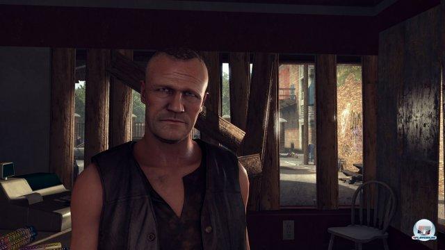 Das erste Ziel: Diesen sympathischen bruder finden. Er heißt Merle und ist meist stinksauer.