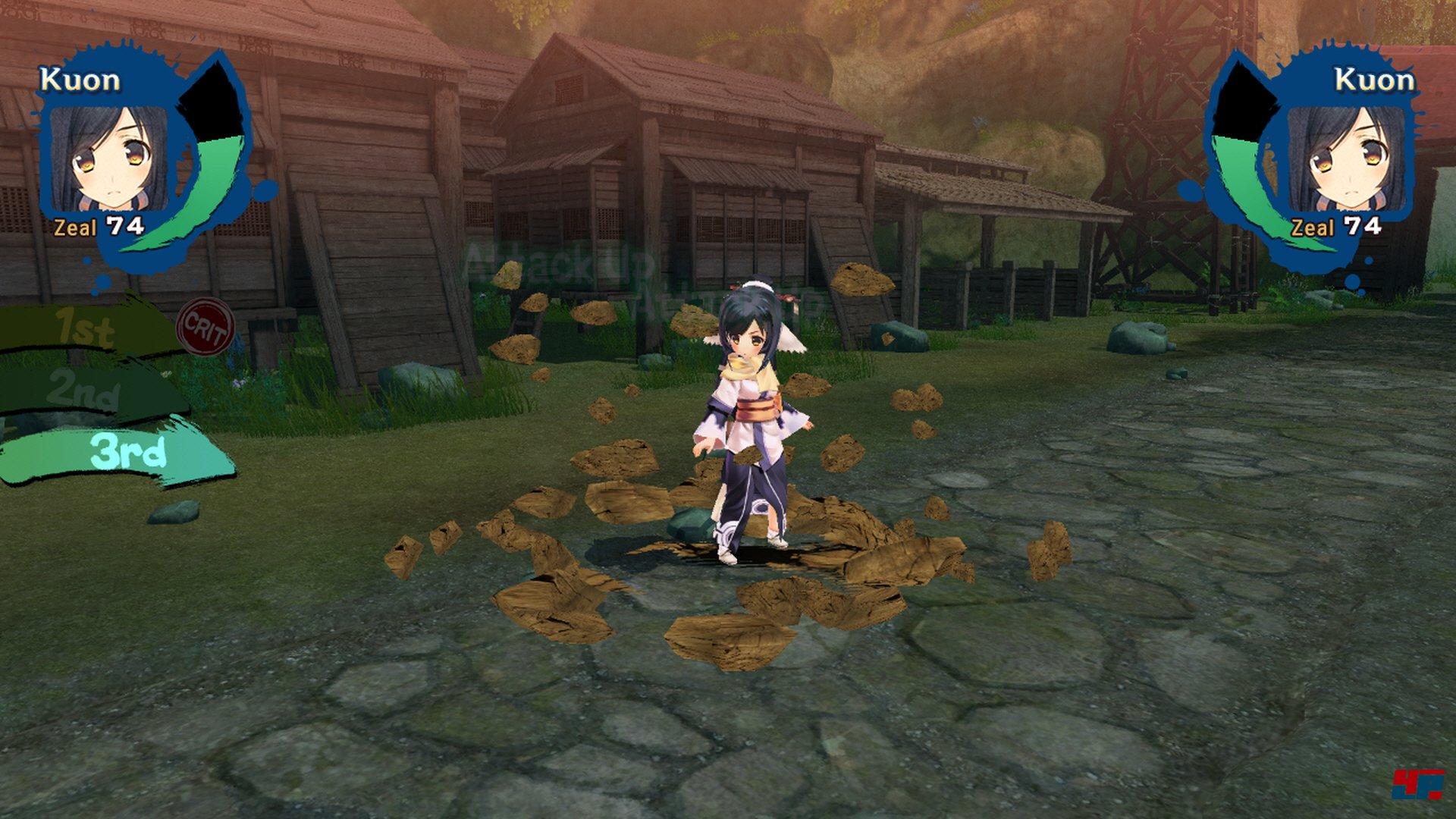 Screenshot- Utawarerumono Mask of Truth