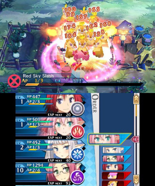 Screenshot - Lord of Magna: Maiden Heaven (3DS)