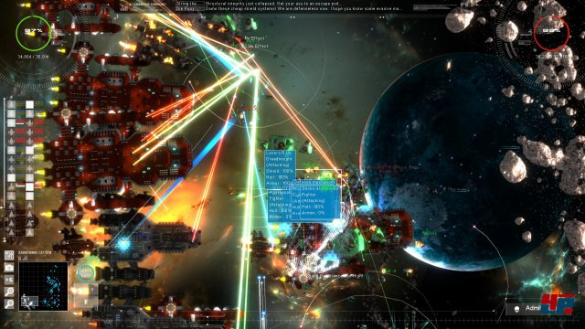 Screenshot - Gratuitous Space Battles 2 (PC)