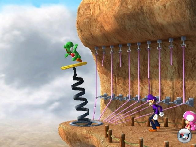 Screenshots Zu Mario Party 8 Alles Zum Geschicklichkeit Spiel Mario