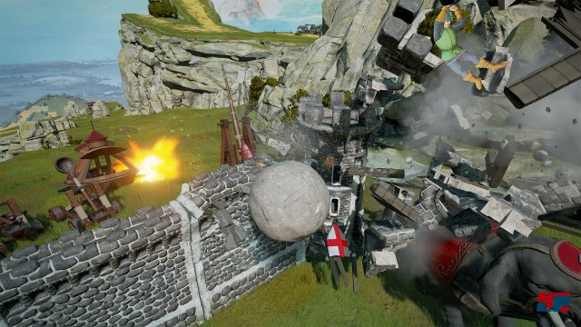 Screenshot - Rock of Ages 2: Bigger and Boulder (PC)