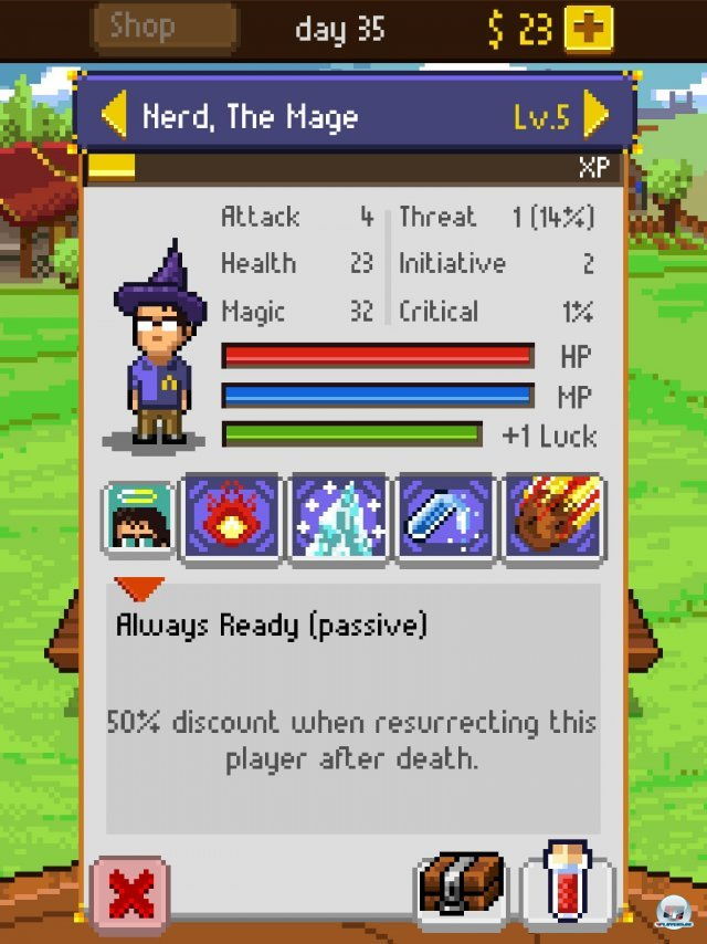 Screenshot - Knights of Pen & Paper (iPad) 92458321