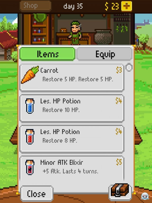 Screenshot - Knights of Pen & Paper (iPad) 92458325