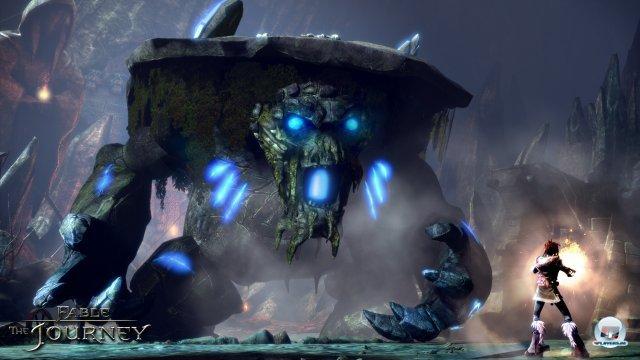 Die Bosskämpfe gehören zu den Höhepunkten des Kinect-Abstechers ins Fable-Universum.