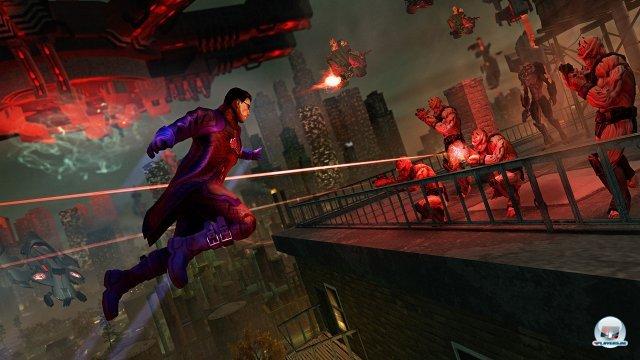 Trotz Superkr�ften und Alienwaffen wird Saints Row 4 nur selten den Add-on-Charakter los.
