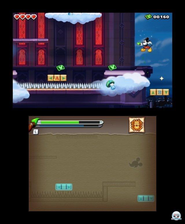 Screenshot - Micky Epic - Die Macht der Fantasie (3DS) 2385007