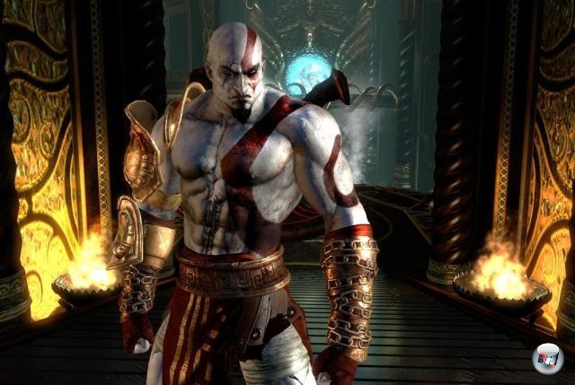 Ein Bild von Kratos geht noch. Nicht nur um die Zehn voll zu kriegen, sondern weil man von den Spielen nicht genug bekommen kann. Weder hier noch anderswo im ganzen Universum. 2074823