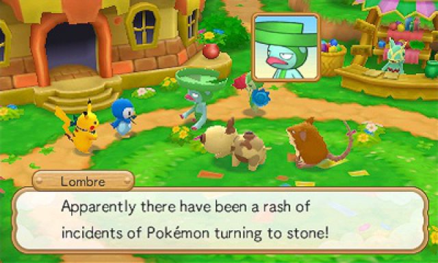 Screenshot - Pokémon Super Mystery Dungeon (3DS)