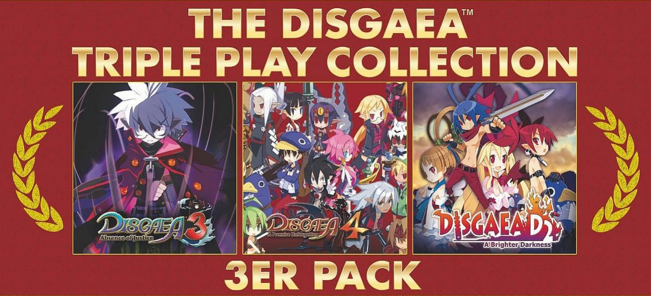 The Disgaea Triple Play Collection (Rollenspiel) von NIS America / Flashpoint