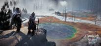 """Horizon Zero Dawn: The Frozen Wilds : Ausführliches Spielszenen-Video zeigt die Quest """"Die Überlebende"""""""