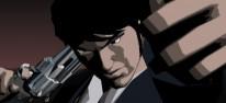 Killer 7: Garcian Smith (The Cleaner), Dan Smith (The Hellion) und Kevin Smith (Four-eyes) im Trailer