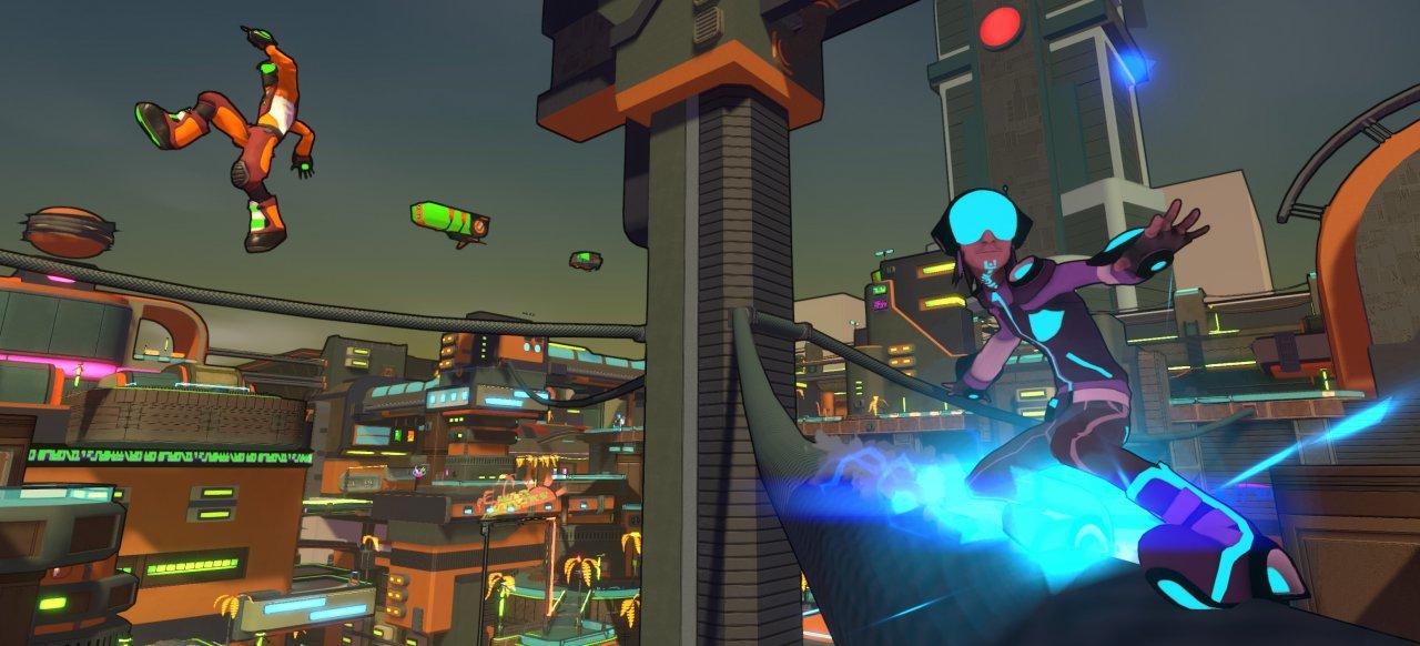 Hover: Revolt of Gamers (Geschicklichkeit) von The Sidekicks, Plug In Digital