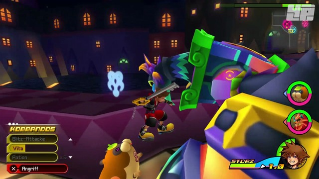 Spielszenen: Kingdom Hearts Dream Drop Distance HD