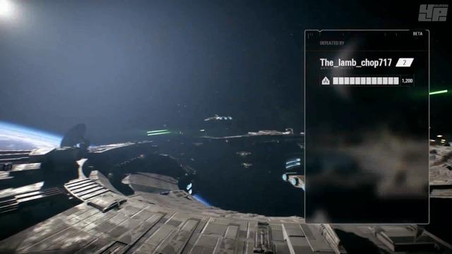 Starfighter Assault Beta-Spielszenen