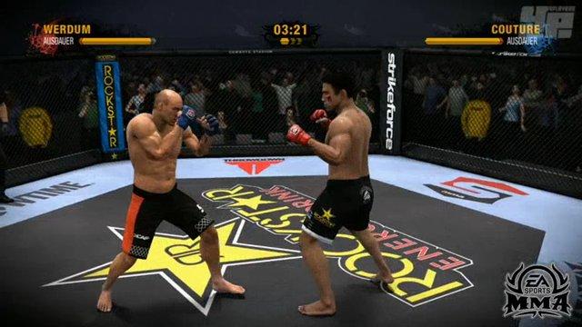 MMA/UFC-Vergleich: Clinch
